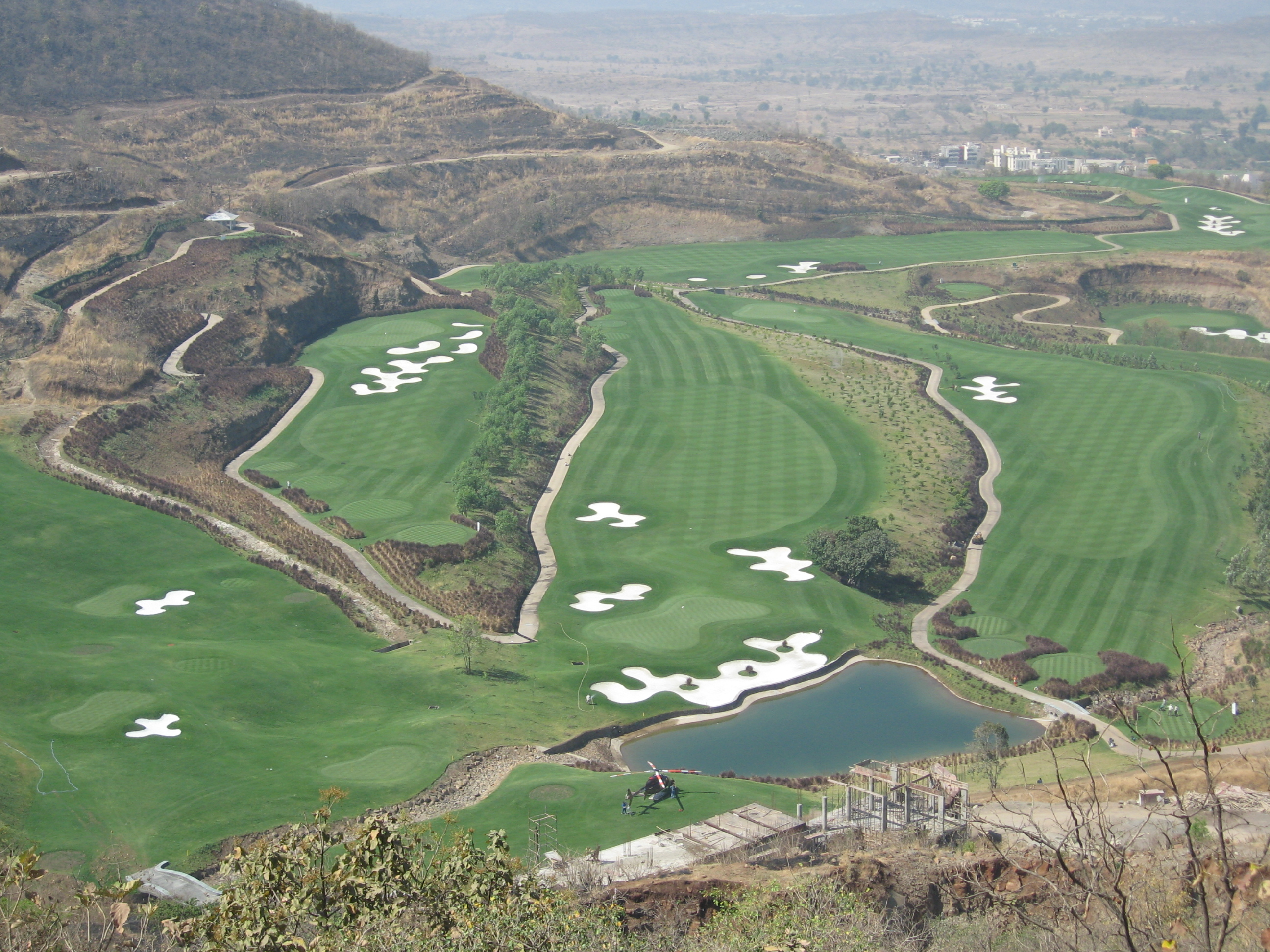 Oxford Golf amp Country Club Pune Pacific Coast Design